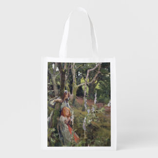 The Enchanted Wood (oil on canvas) Reusable Grocery Bag