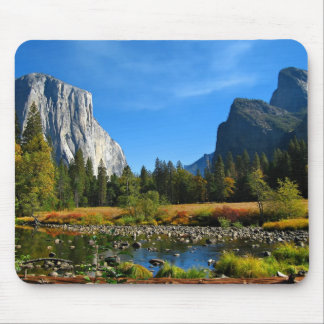 The Enchanted Yosemite Valley Mouse Pads