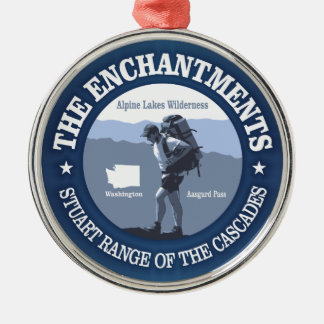 The Enchantments (rd) Christmas Ornament