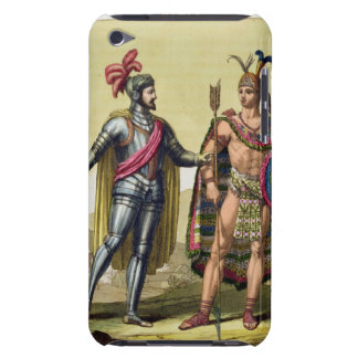 The Encounter between Hernando Cortes (1485-1547) Barely There iPod Case