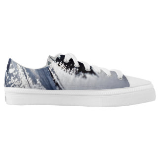 The End Low Top Shoes Printed Shoes