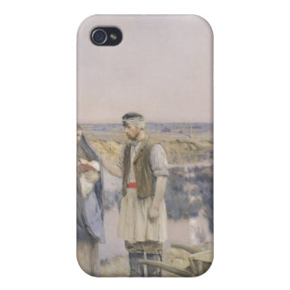 The End of the Day, 1888 iPhone 4 Case
