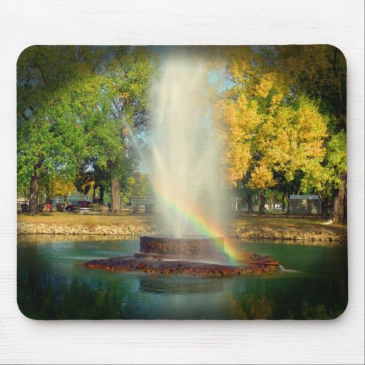 The End Of The Rainbow Mouse Pad