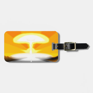 The End Of The Road Luggage Tag