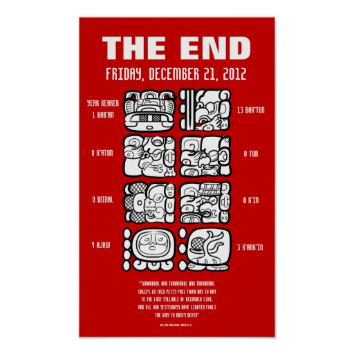 The End of the World Posters