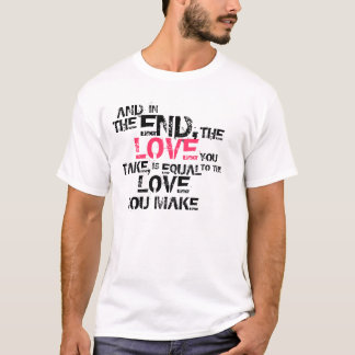 The End. T-Shirt