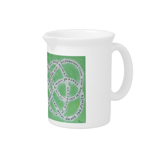 The Endless Knot of Love Pitcher