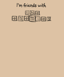 The Enemies offical logo T-shirt