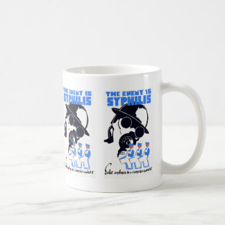 The Enemy Is Syphilis Mugs