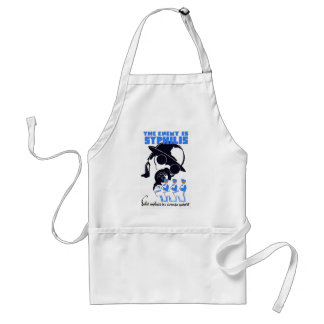 The Enemy Is Syphilis Standard Apron