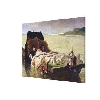 The Enerves de Jumieges, 1880 Canvas Print