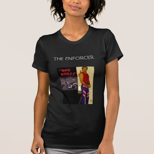 THE ENFORCER MARK WOLF APPAREL LINE T-SHIRTS