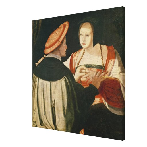 The Engagement Canvas Print