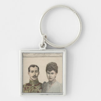 The Engagement of Albert Victor  Duke of Key Ring