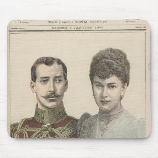 The Engagement of Albert Victor  Duke of Mouse Mat