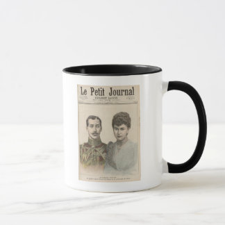 The Engagement of Albert Victor  Duke of Mug