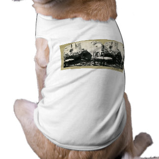 The Engagement Series Classic Stereoview Cards Sleeveless Dog Shirt