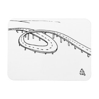 The Engineering Marvel Rectangular Photo Magnet