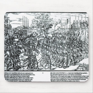 The English Army Marching with Sir Henry Sidney Mouse Pad
