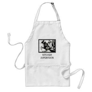 "The "" English Bulldog"" Collection Standard Apron"