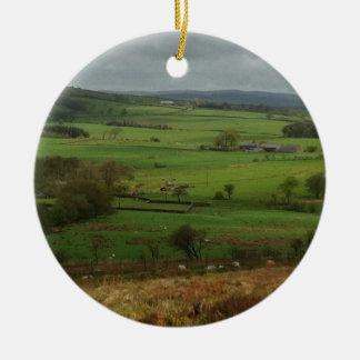 The English Countryside Christmas Ornament