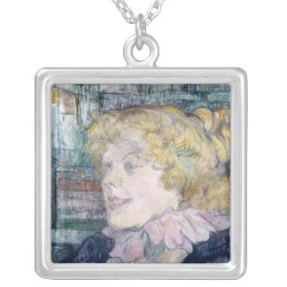 The English Girl from The Star at Le Havre Silver Plated Necklace