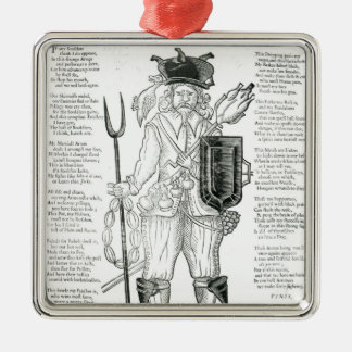 The English Irish Soldier, with New Discipline Silver-Colored Square Decoration