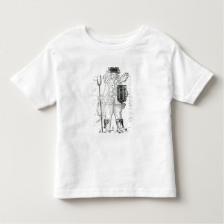 The English Irish Soldier, with New Discipline Toddler T-Shirt