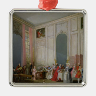 The English Tea  and a Society Concert Christmas Ornament