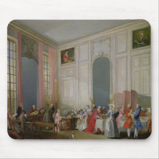The English Tea  and a Society Concert Mouse Mat