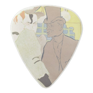 The Englishman at the Rouge, 1892 Acetal Guitar Pick