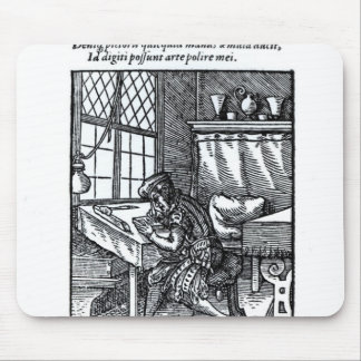 The Engraver, published by Hartman Schopper Mouse Mat