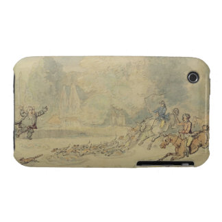 The Enraged Botanist (w/c, pen & ink and pencil on Case-Mate iPhone 3 Case