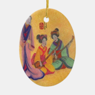 The Entertainers Christmas Ornament