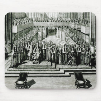 The Enthroning of King James II and Queen Mary Mouse Mat