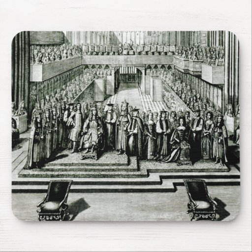 The Enthroning of King James II and Queen Mary Mousepad