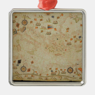 The entire Mediterranean Basin Christmas Ornament