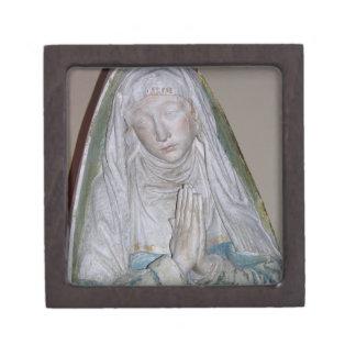 The Entombment, detail of a female saint praying, Premium Gift Boxes