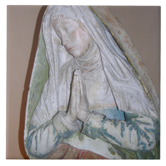 The Entombment, detail of one of the Holy Women, 1 Tile