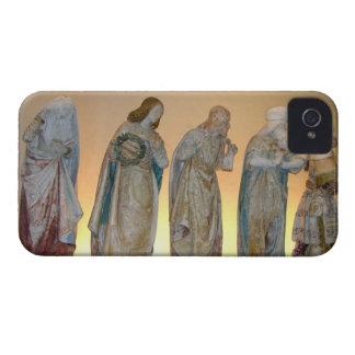 The Entombment, detail of saints, 1490 (painted st iPhone 4 Case