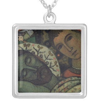 The Entombment Silver Plated Necklace