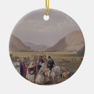 The Entrance into Caubul from Killa-Kazee, from 'S Christmas Ornament