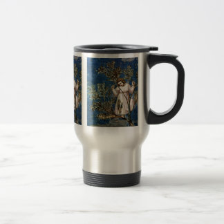 The Entrance To Jerusalem  By Giotto Di Bondone Coffee Mugs