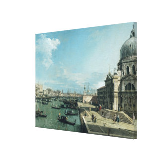 The Entrance to the Grand Canal Canvas Print