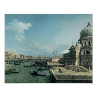 The Entrance to the Grand Canal Poster