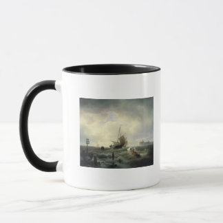 The Entrance to the Harbour at Hellevoetsluys Mug