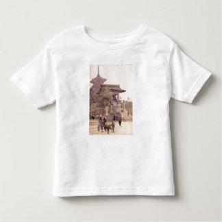The Entrance to the Temple of Kiyomizu-Dera, Kyoto Toddler T-Shirt