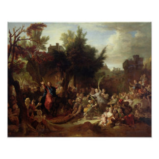 The Entry of Christ into Jerusalem, c.1720 Poster
