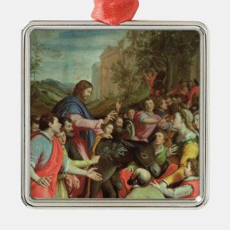 The Entry of Christ into Jerusalem Christmas Ornament
