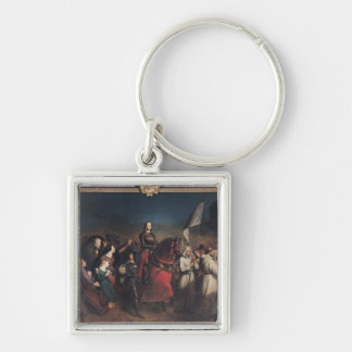The Entry of Joan of Arc  into Orleans Key Ring